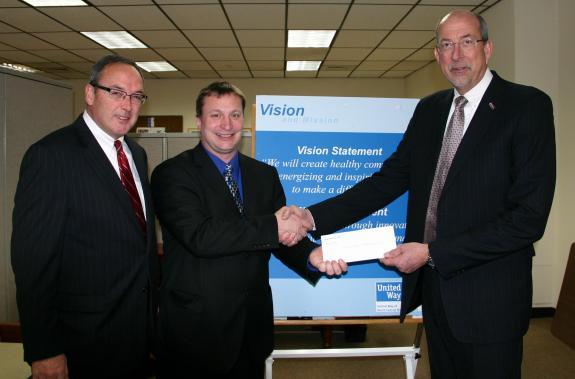 Bank of America makes $5K donation