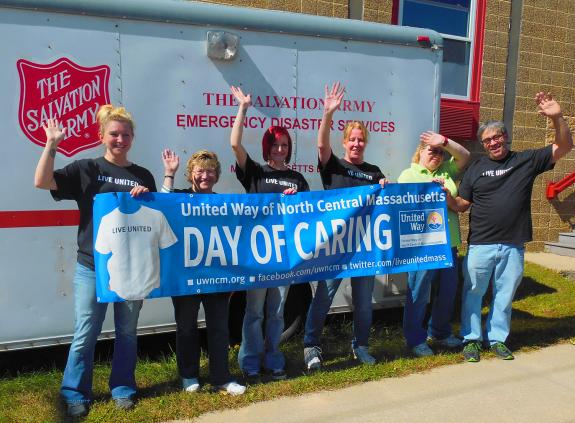 Volunteers lend a helping hand to 48 nonprofit agencies in a 'Day of Caring'