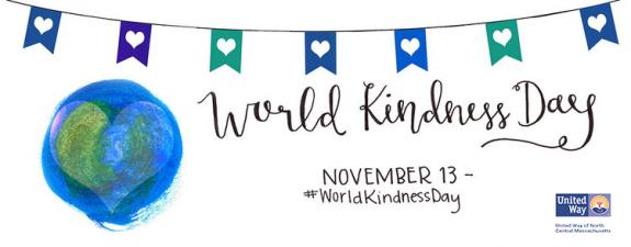 20 Simple Ways to Support the 20th Anniversary of World Kindness Day, November 13, 2018