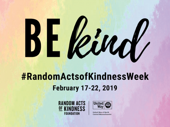 Random Acts of Kindness Week 2019