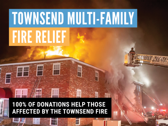 United Way of North Central Massachusetts Seeks Support for Victims of Townsend Fire