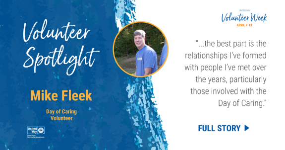 Volunteer Spotlight: Mike Fleek