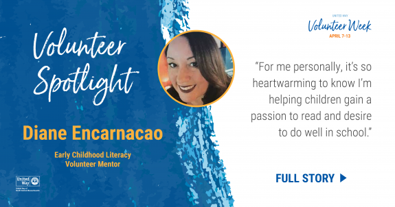 Volunteer Spotlight: Diane Encarnacao