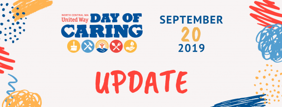 United Way Day of Caring – Update!