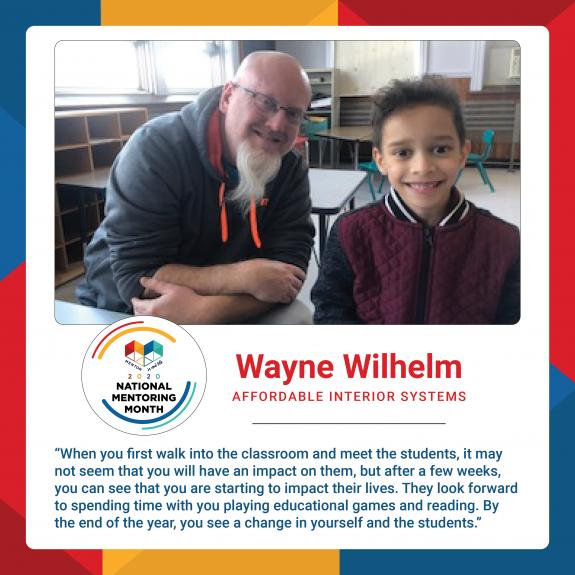 Mentor Spotlight: Wayne Wilhelm