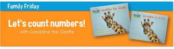 Counting with Geraldine the Giraffe