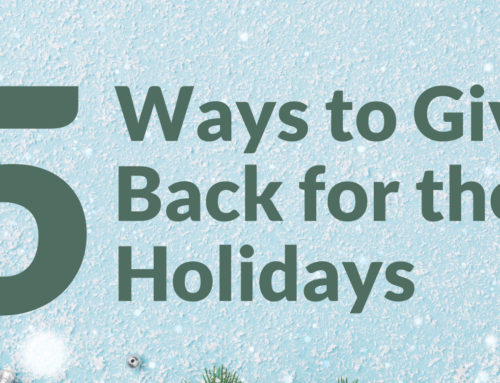 5 Ways to Give Back for the Holidays